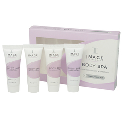 Image Skincare BODY SPA Travel / Trial Kit, 4 pieces
