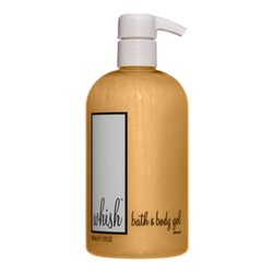 Whish Bath & Body Gel - Almond, 390ml/13 fl oz