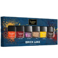 butter LONDON Brick Lane Lacquer Collection, 6 x 0.59ml/0.2 oz
