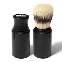 IMPERIAL Barber Products Travel Shave Brush, 2 pieces