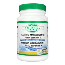 Organika Cal Mag 1:1 with Vit D - Optimum Potency, 90 capsules