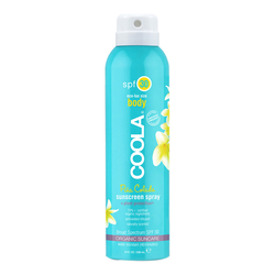 Coola Body SPF 30 Pina Colada Sunscreen Spray, 236ml/8 fl oz