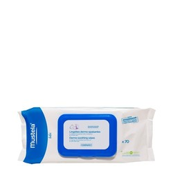 Mustela Dermo Soothing Wipes Delicately Fragranced, 70 wipes