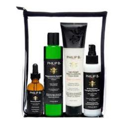 Philip B Botanical Four Step Hair and Scalp Facial Treatment Set (Includes Classic Formula Conditioner), 1 set