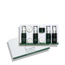 Dr Alkaitis Holistic Organic Skin Food Organic Travel Kit, 8 pieces