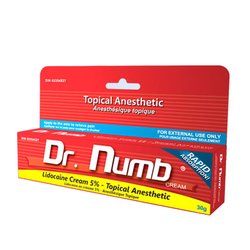 Dr Numb Topical Anesthetic Cream Tube, 30g/1.1 oz