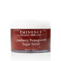 Eminence Organic Cranberry Pomegranate Sugar Scrub, 250ml/8.5 fl oz