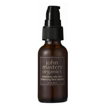 John Masters Organics Bearberry Oily Skin Balancing Face Serum, 30ml/1 fl oz