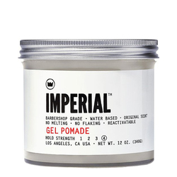 Imperial Barber Products Gel Pomade, 340g/12 oz