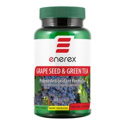 Enerex Grape Seed & Green Tea, 60 capsules