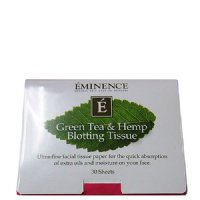 Eminence Organic Green Tea and Hemp Blotting Tissue (30 Sheets)