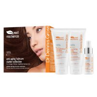 Dr Dennis Gross Root Resilience Haircare Starter Collection, 1 set