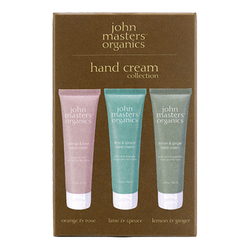 John Masters Organics Hand Cream Collection, 3 x 54ml/1.9 fl oz