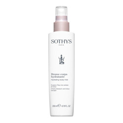 Sothys Hydrating Body Mist Cherry Blossom and Lotus, 200ml/6.8 fl oz