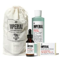 IMPERIAL Barber Products Shave Bundle, 3 pieces