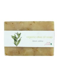 100% Pure Organic Organic Olive Oil Soap - Lemon Verbena, 99.2g/3.5 oz