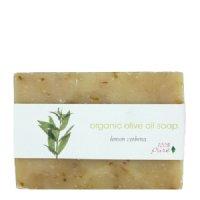 100% Pure Organic Organic Olive Oil Soap - Lemon Verbena, 99.2g/3.5 oz