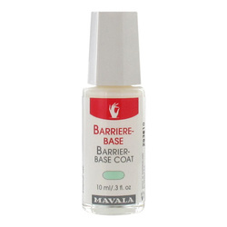 Mavala Barrier Base Coat for Delicate Nails, 10ml/0.3 fl oz