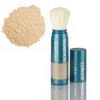 Colorescience Sunforgettable Mineral Sunscreen Brush SPF 30 - Medium (Perfectly Clear) MATTE - 0.23 oz