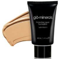 gloMinerals gloProtective Liquid Foundation Satin II - Natural-Light, 40ml/1.4 fl oz