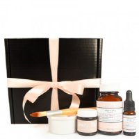 One Love Organics Merry & Bright Facial Set, 5 pieces