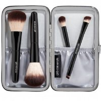 gloMinerals Petite Brush Set Limited Time Collection, 4 pieces