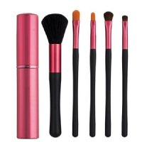 Japonesque Touch Up Tube Brush Set Pink, 6 pieces