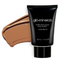 gloMinerals gloProtective liquid foundation Matte II Finish - Honey, 40ml/1.4 fl oz