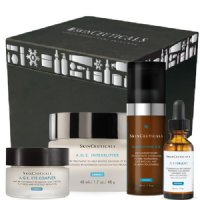 SkinCeuticals A.G.E Holiday Kit, 4 pieces