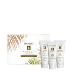 Eminence Organic Limited Edition Sugar Scrub Body Glow Trio, 1 sets