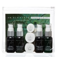 Dr Alkaitis Holistic Organic Skin Food Organic Travel Kit, 8 pieces