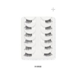 Kimara (House of Beauty) Natural Corner False Eyelashes, 1 sets
