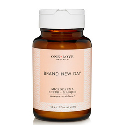 One Love Organics Brand New Day Microderma Scrub & Masque, 50ml/1.7 fl oz