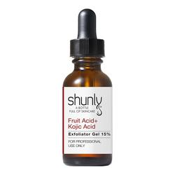 Fruit Acid + Kojic Acid Exfoliator Gel 15%
