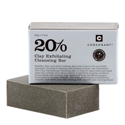 20% Clay Exfoliating Cleansing Bar