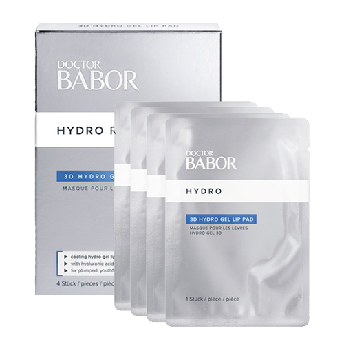 Babor DOCTOR BABOR HYDRO RX 3D Hydro Gel Lip Pads (4-Pack), 4 pieces