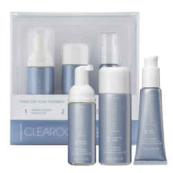 Clearogen 3 Step Acne Treatment Set - 1 Month Supply, 1 set