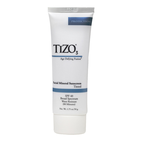 TiZO 3 Facial Mineral Sunscreen SPF 40 (Tinted), 50g/1.75 oz