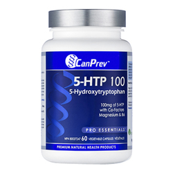 CanPrev 5-HTP 100 with B6 and Mag, 60 capsules