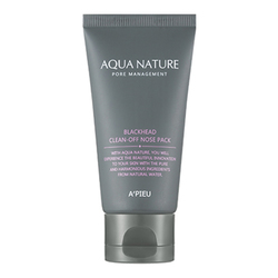 Aqua Nature Blackhead Clean-Off Nose Pack