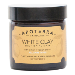 White Clay Brightening Mask with Lemon + Yogurt extract