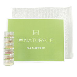 Au Naturale Cosmetics Fair Starter Kit, 1 set