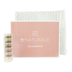 Au Naturale Cosmetics Tan Starter Kit, 5 pieces