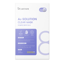 Ac-Solution Clear Mask (25ml x 5 sheets)