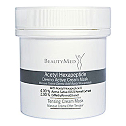 BeautyMed Acetyl Hexapeptide Dermo Active Cream Mask, 100ml/3.4 fl oz