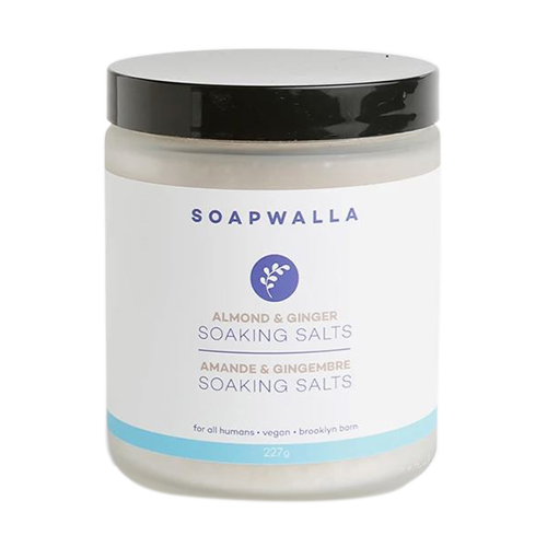 Soapwalla Almond and Ginger Soaking Salts, 227g/8 oz