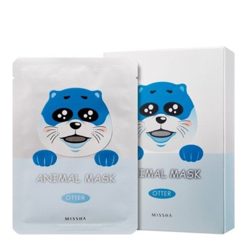 MISSHA Animal Mask Set - Otter, 10 pieces