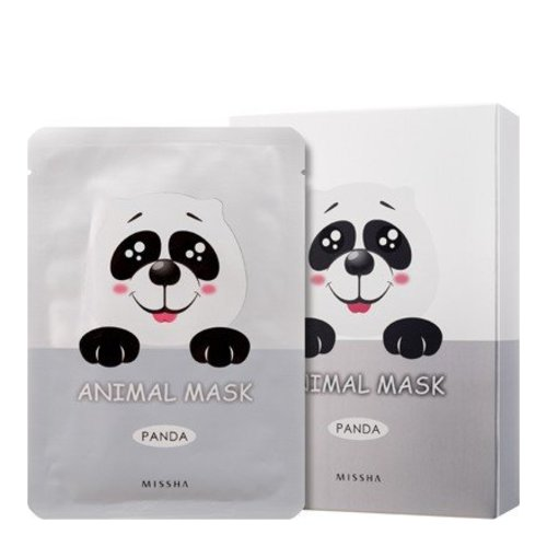 MISSHA Animal Mask Set - Panda, 10 pieces