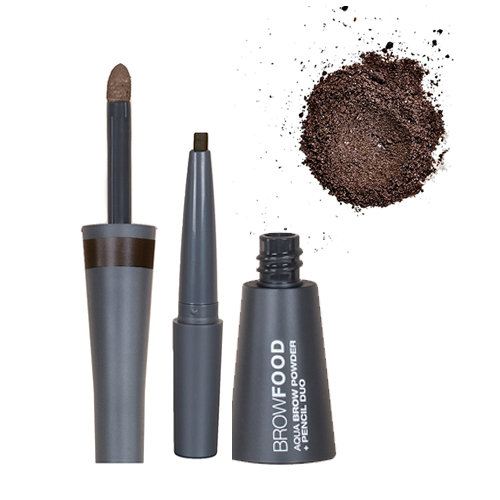 Lashfood Aqua Brow Powder and Pencil Duo - Taupe, 1 pieces