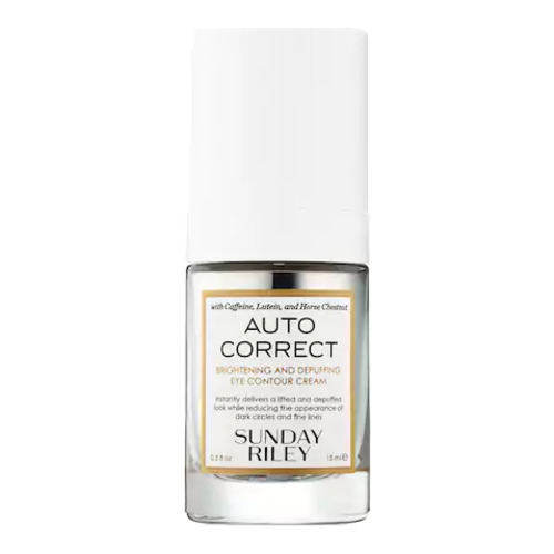 Sunday Riley Auto Correct Brightening and Depuffing Eye Contour Cream, 15ml/0.5 fl oz